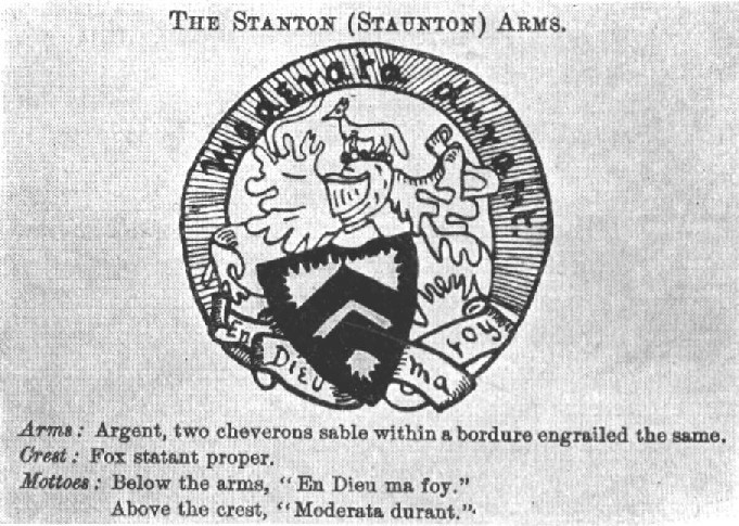 Stanton Coat of Arms